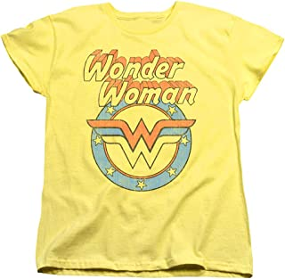 Wonder Woman Officially Licensed Women's T-Shirt & Stickers