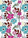 Flowers Magneto Blank Book Large -