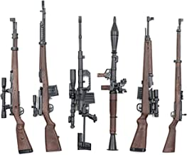 backdraft 1/6 Scale Rifle Collection Diorama Figure (six Models) Gewehr 43 SVT-40 RPG-7, etc.