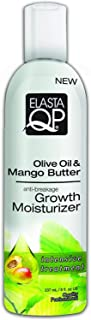 Elasta QP Olive Oil & Mango Butter anti-breakage Growth Moisturizer, 8 oz (Pack of 3)