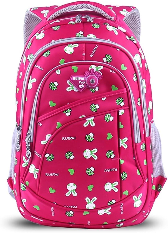 Rucksack-Kaninchen Schultasche Grundschule Klasse Klasse Klasse 3-6 Cute Girl Schultasche 6-12 Jahre alt Kinder Rucksack (Farbe   C) B07HH4XCHY | Deutschland Shop  5a4612