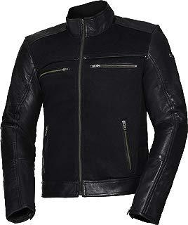 IXS Jimmy Hombre Moto Chaqueta Classic Piel/textil–Negro