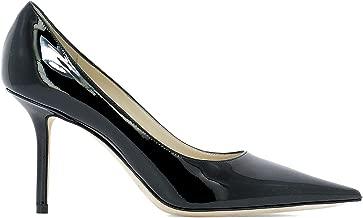 JIMMY CHOO Luxury Fashion Womens LOVE85PATBLACK Black Heels | Fall Winter 19