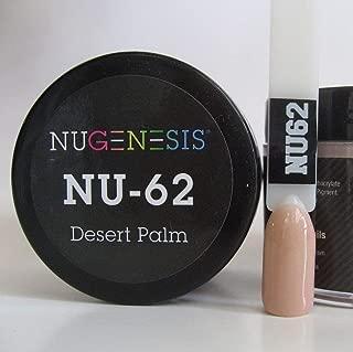 NUGENESIS Nail Color SNS Dip Dipping Powder NU 62 Desert Palm 1.5oz/43g