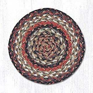 Earth Rugs Table Accent, Brown