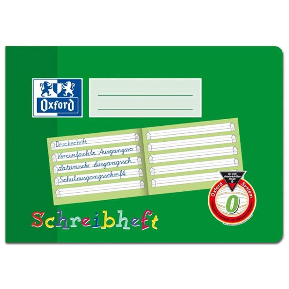 Oxford Schreiblernheft A4 Lin.SL Querformat 16 Blatt