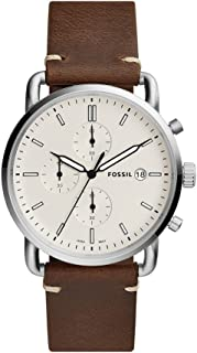 Fossil Analog Off-White Dial Men's Watch - FS5402