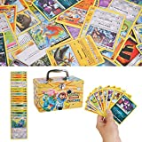 150Pcs Jeu de Cartes Pokemon Cartes, Carte de Pokemon Amusant pour Enfants, Cartes à Collectionner, XY Series Steam Siege
