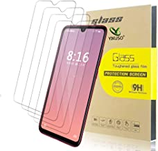 [4-Pack] Xiaomi Redmi Note 7/Note 7 Pro Tempered Glass Screen Protector,HD Scratch Resistance Bubble Free 9H Hardness Tempered Glass