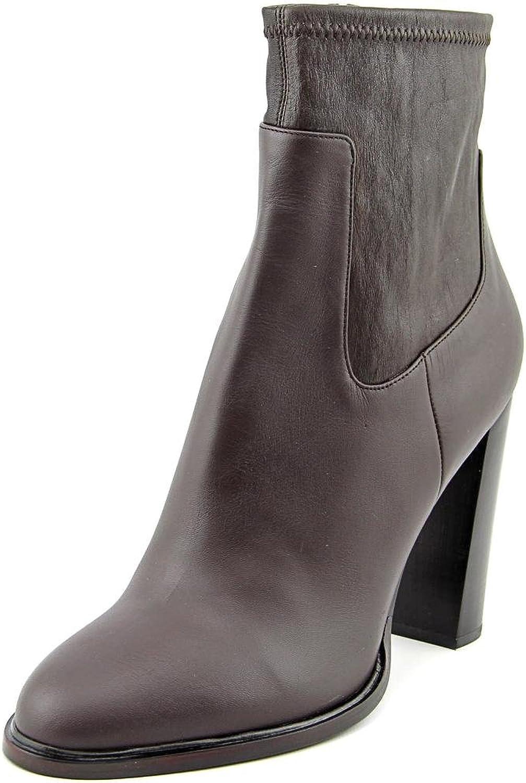 Vince Women Odelia Dress Boots Black Cherry