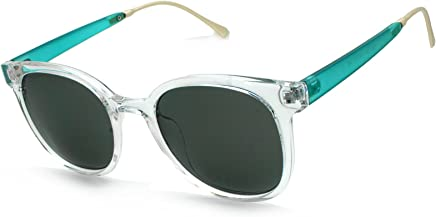 One Size White Green Lens Sunglasses NCAA Michigan State Spartans MIST-2 White Front Temple