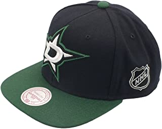 san francisco 462d3 2c0e2 Mitchell And Ness - Casquette Snapback Homme Dallas Stars XL Logo 2 Tone -  Black