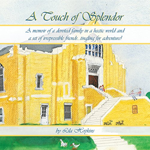 A Touch of Splendor audiobook cover art
