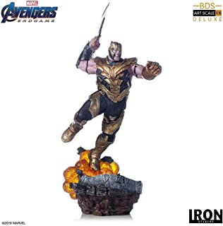 Iron Studios Thanos Collectible Figure 14.1 Inches BDS Art Scale 1/10 Hand Painted Polystone Statue – Marvel Comics Avengers: Endgame