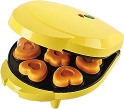 N&W Heart-Shaped Mini Donut Maker Home Cake Maker Dessert Breakfast Machine Double-Sided Heating Automatic Baking Tool Kit...
