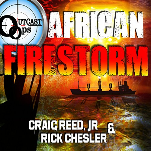 OUTCAST Ops: African Firestorm audiobook cover art