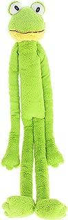 Multipet Swingin Slevin XXL Oversized 30-Inch Green Frog Plush Dog Toy
