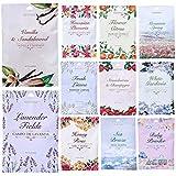 10 Scented Fragrance Sachet Pouch Air Freshener Wardrobe Home Drawer Perfume Bag