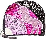 Depesche 10663 - Cartera con Purpurina (2 x 11,5 x 10 cm), diseño de Ylvi y los Minimoomis, Color Gris