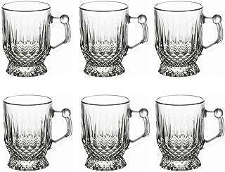 12 Set PASABAHCE Coffee Drinking Glasses Lens Tea Glasses Classic NIP