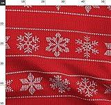 Schnee, Flocke, Pullover, Winter, Weihnachten, Gemütlich