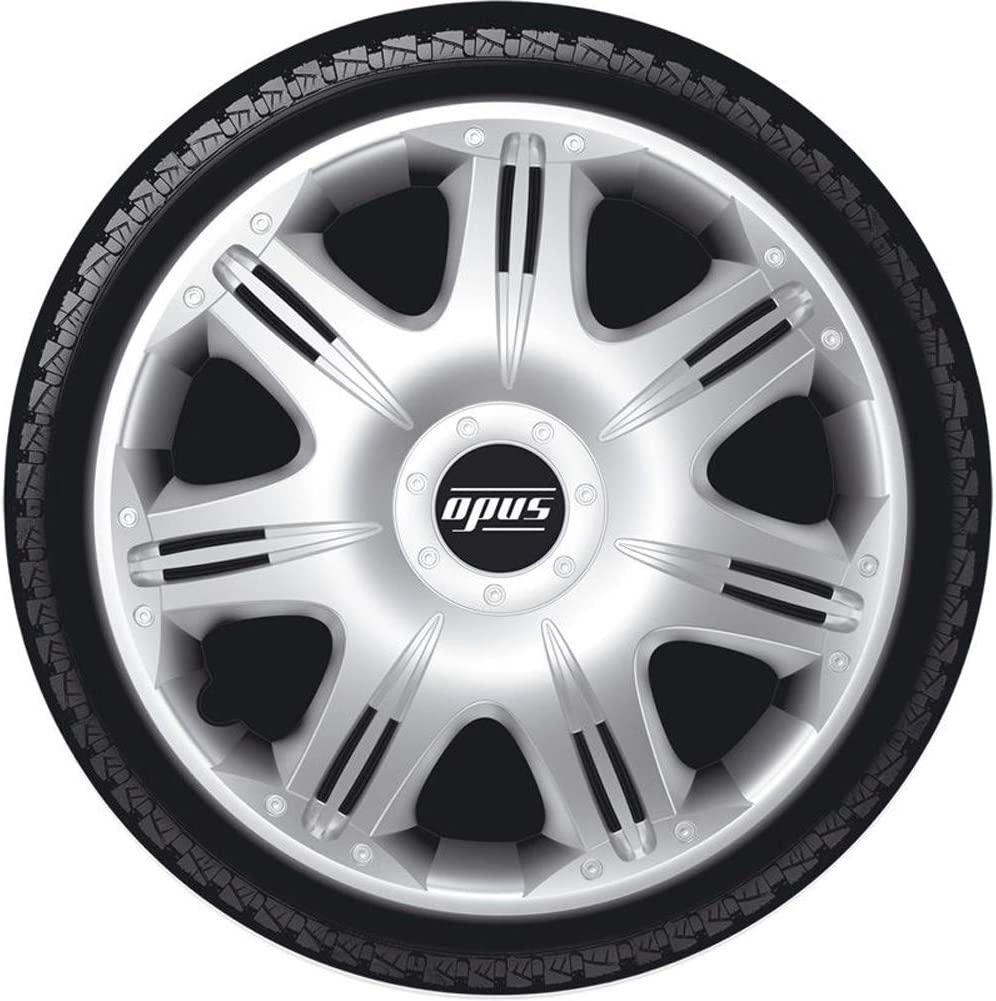 Autostyle Set Wheel Covers Opus 16-inch Silver