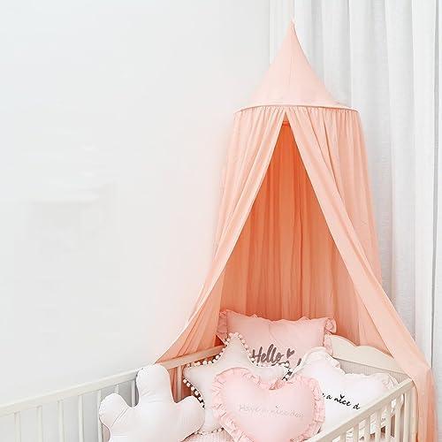 Kinderzelt-Kuppel-Bett-Zelt-mädchen-InnenSpaß-Lesbaby-Spiel-Haus, (nur ein Zelt) (Farbe    1)