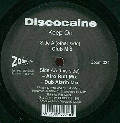 Keep on (Club/Afro Ruff/Dub Alarm Mixes) [VINYL]