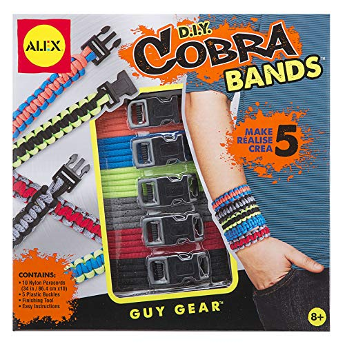 Alex Guy Gear Cobra Bands Kids Art and Craft Activity
