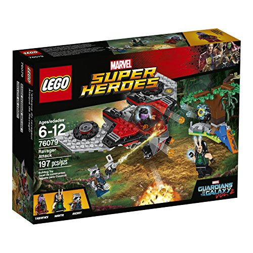 LEGO Marvel Super Heroes Ravager Attack