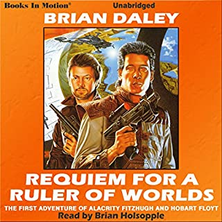 Requiem for a Ruler of Worlds audiobook cover art