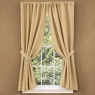 Best park designs burlap curtains Reviews