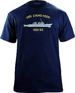 Classic Navy Ship USS Chung-Hoon DDG-93 Veteran T-Shirt