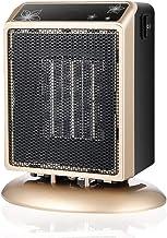 Zzq- Silence Mini Calefactor Cerámico 400W/900W Función Silence Calefactor De Aire Caliente Ahorro Energía Protección del Sobrecalentamiento Adecuado para Dormitorio, Oficina