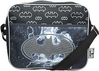 Batman Reflective Canvas Courier Bag