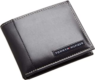 Tommy Hilfiger Cambridge Passcase Men'S Wallet - Black