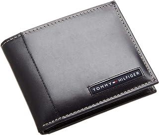 محفظة كامبريدج للرجال من تومي هيلفيغر - أسود