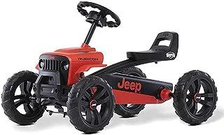 Berg Jeep Buzzy Rubicon Pedal Go Kart Red/Black