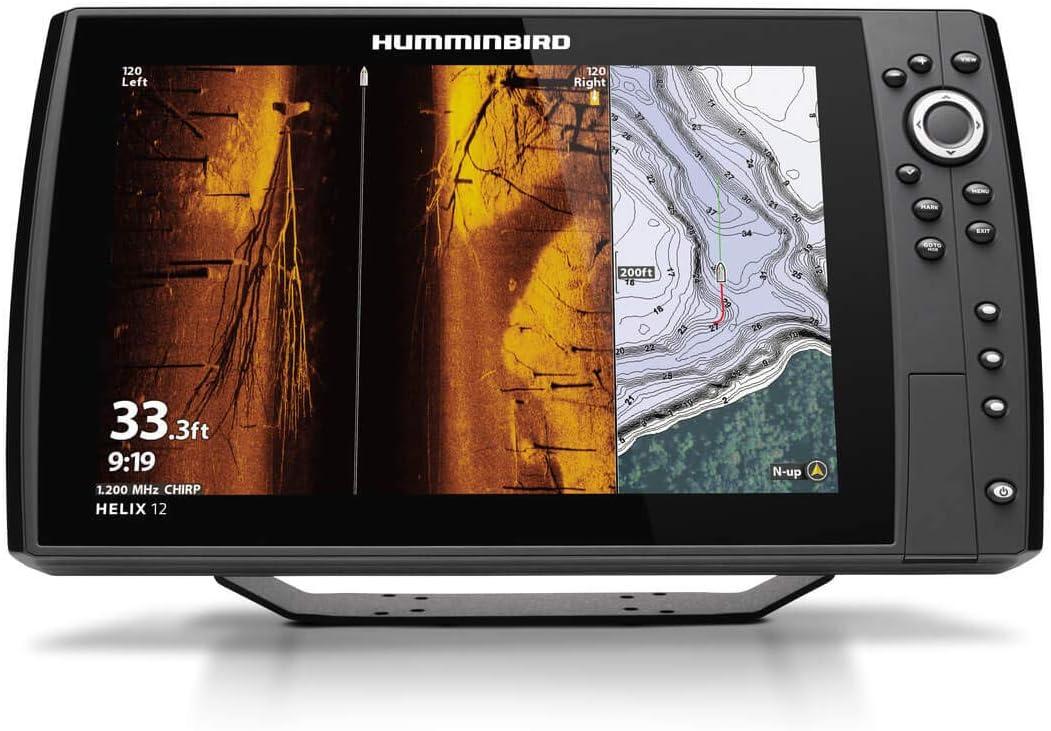 Humminbird 411450-1 Helix 12 Chirp MEGA SI+ GPS G4N Fish Finder