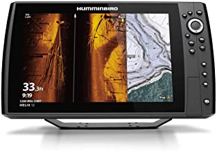 Humminbird Helix 12 G3N Fish Finder with Chirp, MEGA SI+, GPS, and 12.1-Inch-Display