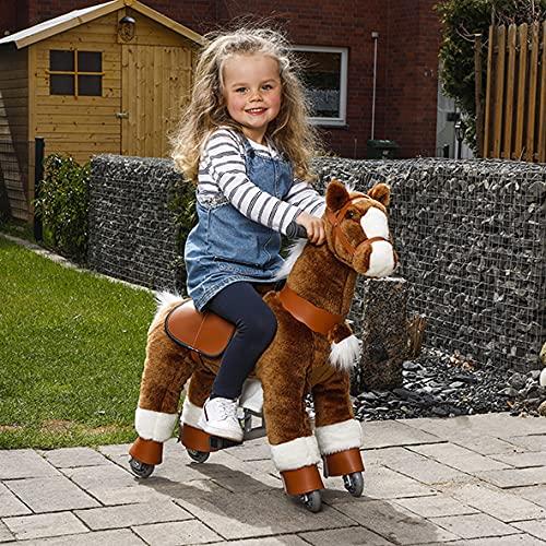 Reitpferd Kinder mit Rollen Spielzeug...
