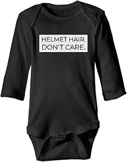 Best helmet hair don t care onesie Reviews