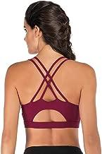 PAPISHOW Women Sexy Yoga Bra Back Cross Hollow Design Sports Bra Woman Shockproof Fitness Yoga Push Up Bra