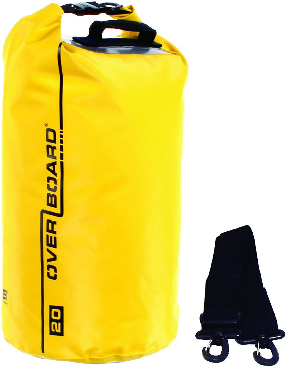 Overboard Dry Bag Waterproof Dry Tube 30 Litre, Yellow