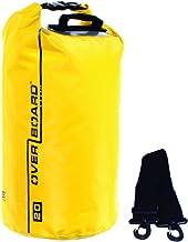 Overboard Wasserdichte Trockenröhrentasche mit verstellbarem Schulterriemen zum Bootfahren, Kajak, Angeln, Rafting, Schwim...