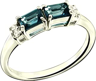 Princess Kylie 925 Sterling Silver Plain Sideway Anchor Ring