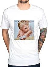 AWDIP Men's Official Van Halen 1984 Album Cover T-Shirt Rock Band Music Jump