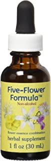 Flower Essence Services Five Flower Formula in Glycerin, 1 Ounce