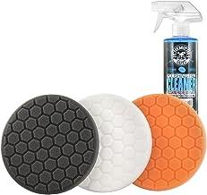 "Chemical Guys HEX_3KIT_5 5.5"" Buffing Pad Sampler Kit, 4 Items – (1) 16 oz.."