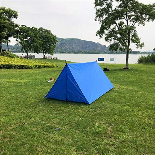HLSX Blue color Advanced Hammock Rain Fly for Breeze mesh tent, Multipurpose Rain Fly Tent Tarp,Multi-use Tarp Shelter